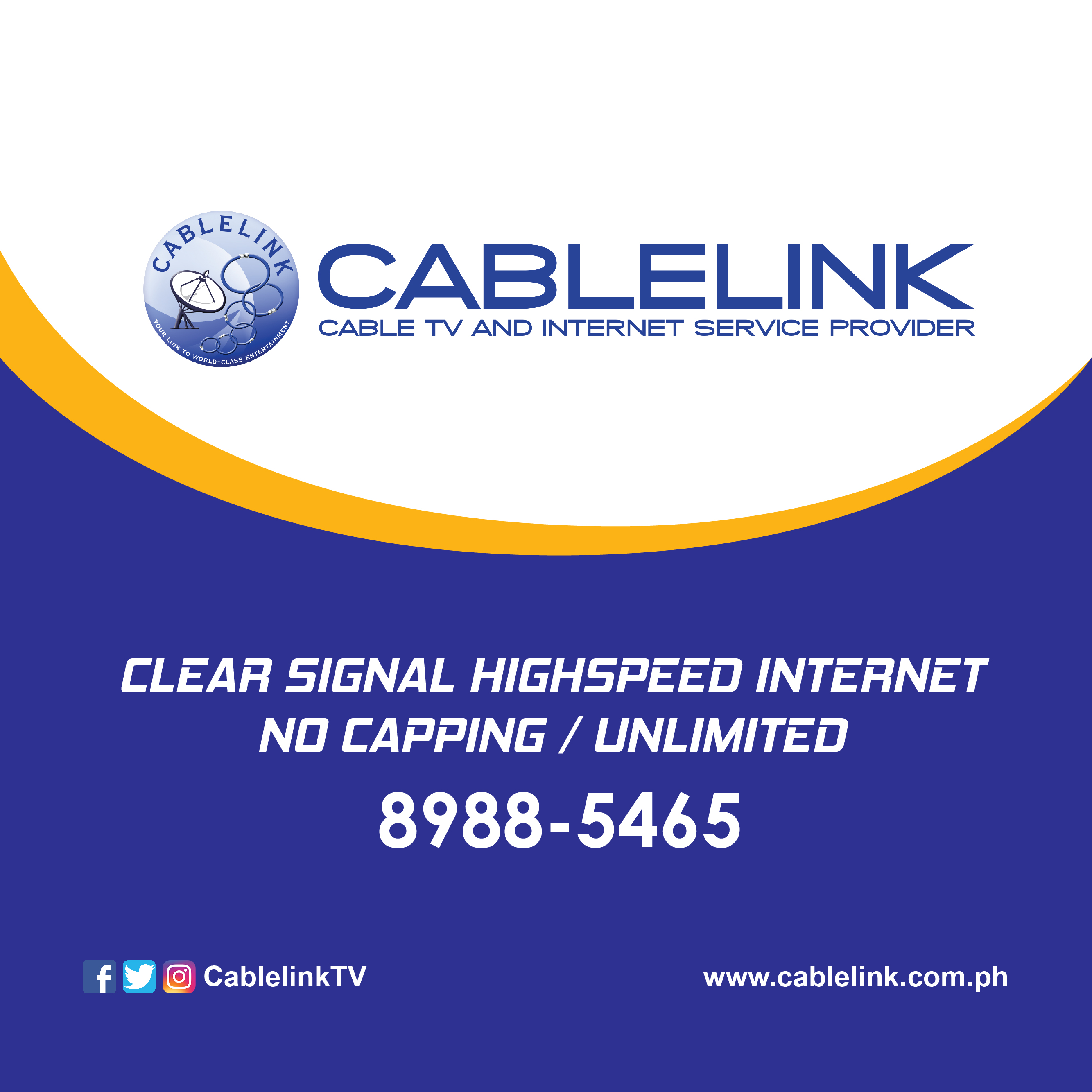Cable Services In My Area >> Cablelink
